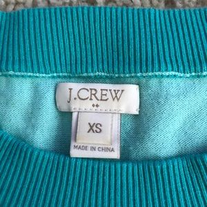 J. Crew Sweaters - J. Crew oatmeal mint sweater XS 3/4 sleeve